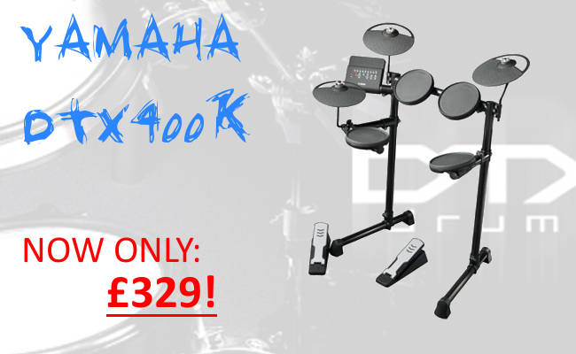 Our best selling electronic drum kit...