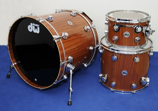 DW Collectors M4 Maple/Mahogany Shell Set