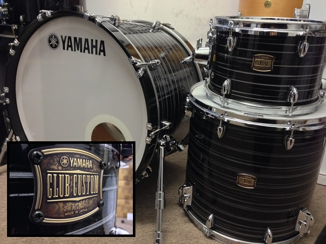 yamaha club custom series