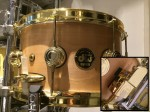 DW Collectors Series 12x6 Solid Shell - Natural Satin *Second Hand*
