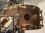 DW Collectors Series 14x6 Snare Drum - Champagne Sparkle *Second Hand*